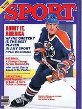 1984 (May) Sport Magazine, Hockey, Wayne Gretzky, Edmonton Oilers ~ VG