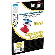 Infiniti A4 Matt CD Label 100