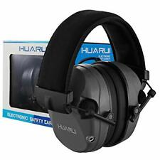 Electronic Ear Muffs for Shooting Hunting Ear Protection Electronic Gray
