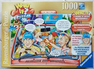 """Ravensburger What If No 19 """"Are We There Yet?"""" 1000 piece Jigsaw Puzzle"""