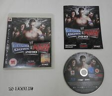 WWE SMACKDOWN vs RAW 2010 Playstation 3 COMPLETE! UK Ver PS3 Region 2 Blu ECW