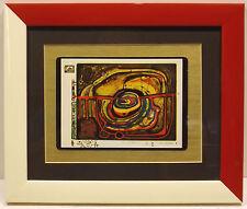Abstrakte moderne Original-Drucktechniken (1950-1999) aus Europa