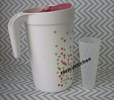 Tupperware 1 Gallon Pitcher Push Button Seal w/Infuser New
