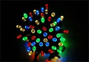 15M/100 LED Solar Power Fairy String Lights Mix