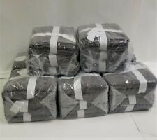LOT OF 12 HAND TOWELS - 16 x 26 INCHES - GREY - 100% COTTON - CHEAPEST ONLINE