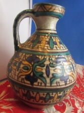 tres ancienne poterie tunisienne vase pichet nabeul tissier maghreb ceramique