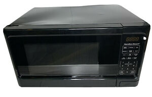 Hamilton Beach P100N30AP-S3B Digital Microwave Oven Black NEW SCRATCH & DENT