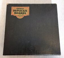 Vintage Milton Bradley Whist Bridge Contract Duplicate Board with Playing Cards