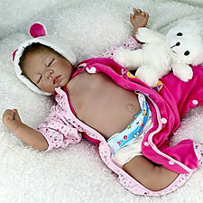 Full Body Reborn Baby Dolls 22inch Realistic Girl Babies Dolls NPK Silicone New