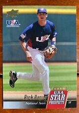 2009 Upper Deck Signature Stars USA Star Prospects #USA30 Rick Hague