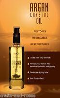 Bio certified Argan Oil liquid crystals Fluid for deep moisturizing of dry hair