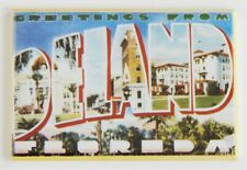 "Greetings from Deland Florida Fridge Magnet travel souvenir ""style A"""