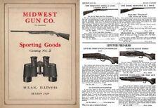 Midwest Gun Company 1929 Catalog (Milan, Il)