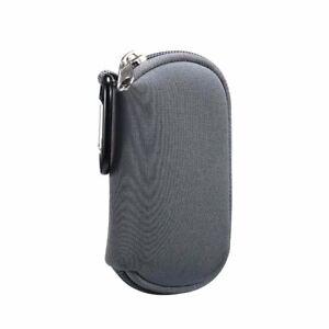 Neoprene Zipper Pouch USB Cable Bag Earphones MP3 Player Case+Climbing Buckle