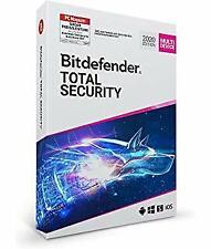 Bitdefender Total Security 2020/2021 Multi-Device, 5 Geräte - 3 Jahre, Deutsch,