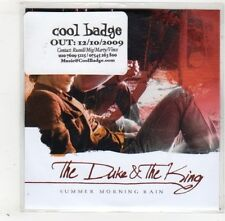 (GD352) The Duke & The King, Summer Morning Rain - 2009 DJ CD