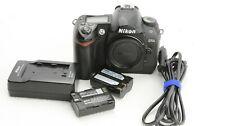 Nikon D70s digital SLR Kamera, Body, Auslösungen /shutter count 20616