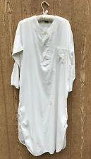 ANTIQUE Victorian Edwardian early 1900's White Cotton nightshirt