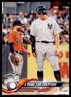 2018 TOPPS UPDATE SERIES A GAME FOR EVERYONE JOSE ALTUVE AARON JUDGE #US79
