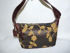 Latico Tapestry & Leather Small Hand Bag Purse Beautiful Fall Colors