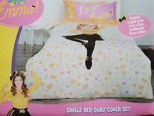 SINGLE BED Emma Wiggle The Wiggles Doona Duvet Quilt Cover Set