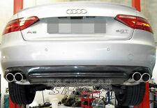 Carbon Fiber Rear Diffuser For Audi A5 Coupe Non-Sline Non-S5 Bumper 08-11 a034