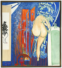 BRETT WHITELEY - SCREEN AS THE BATHROOM WINDOW