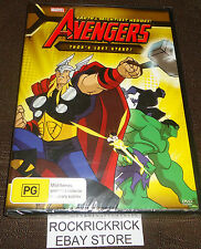 THE AVENGERS - THOR'S LAST STAND! DVD (7 EPISODES) (BRAND NEW SEALED)