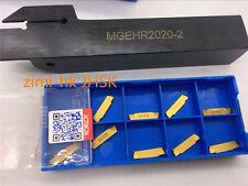 MGEHR2020-2 20x125mm 2mm width + 10* MGMN200-G NC3020 External Grooving Cut-Off