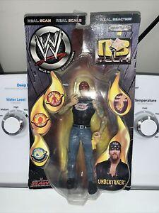 RARE Undertaker WWE WWF Wrestling Jakks R3 Tech Series Figure 2002