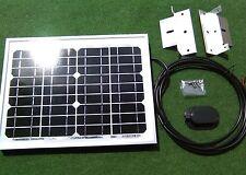 10w 10 watt solar panel + bracket kit suit camper van motorhome VW camper shed