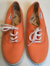 VICTORIA. ORANGE LACE UP PUMPS / TRAINERS. SIZE UK 6  EUR 39
