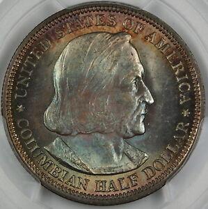 1893 Columbian Silver Half Dollar, PCGS MS-65 *Toned* Commemorative Coin