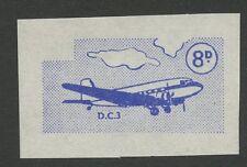 Guernsey SARK 1967 Def  8d Vignette PROOF no gum