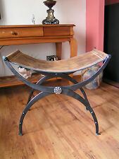 FERRO battuto POLTRONA, sedia stile Art Deco