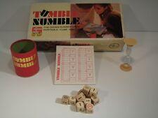1969 Tumble Numble Dice Math Game by Selchow & Righter