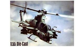 New  Ray 1/55 Bell AH1Z Cobra Helicopter (Die Cast) NRY26123