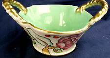 Vintage Crown Devon Fieldings Porcelain Basket very good condition
