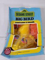 Vintage 1979 Big Bird Sesame Street Halloween Costume Tiny Tot 3-5 Ben Cooper