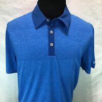 Adidas Climacool Primeknit Polo Golf Shirt Short Sleeve Blue AE3525 XL NNN20