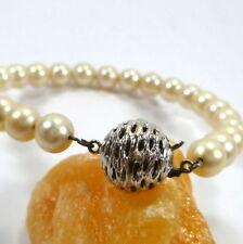 Pulseras de joyería de metales preciosos sin piedras de oro blanco de 14 quilates
