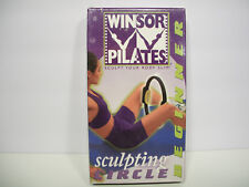 WINSOR PILATES SCULPTING CIRCLE BEGINNER VHS TAPE NEW SEALED