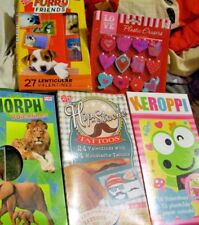 Lot Of New Valentine'S Day Cards (94 Cards Total) Love Erasers Keroppi Moustache