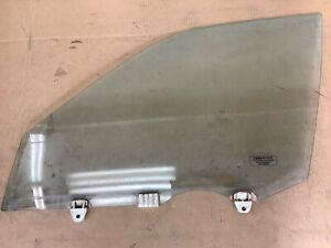 91-95 Legend 4Dr Left Front Door Glass Driver Side Window Used Blue OEM
