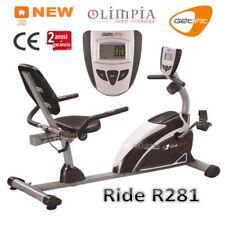 GetFIT - Cyclette MAGNETICA Recumbent  RIDE R281 Seduta Regolabile - GARANZIA