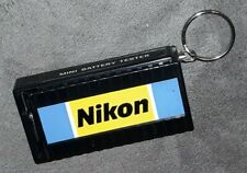 NIKON MINI BATTERY TESTER KEYCHAIN Camera VINTAGE OLD