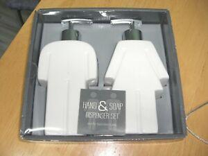 His & Hers Ceramic Soap Dispenser Set