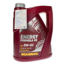 5 (1x5) Liter MANNOL 5W-40 Energy Formula PD Motoröl für ACEA C3, API SN/SM/CF