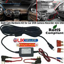 Mini USB DC Car Charger Hard wire Kit for In Car Dash Cam NEXTBASE 522 GW