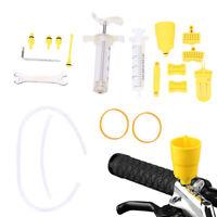 Kit de herramienta de purga de aceite de freno de disco de bicicleta hidráulica
